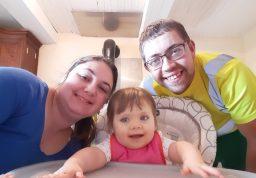 Prescilia et ses parents