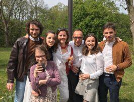 photo de famille avec Raphaëlla