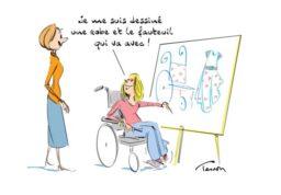 Dessin humoristique de Luc Tesson.