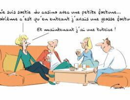 dessin humoristique de Luc Tesson