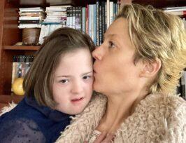 Vanessa et sa fille Valentine
