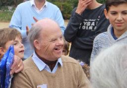 Jean-Eudes entouré de sa famille