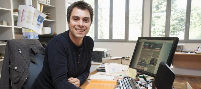 Portrait de David Torchala, Service communication du sanctuaire Notre-Dame de Lourdes