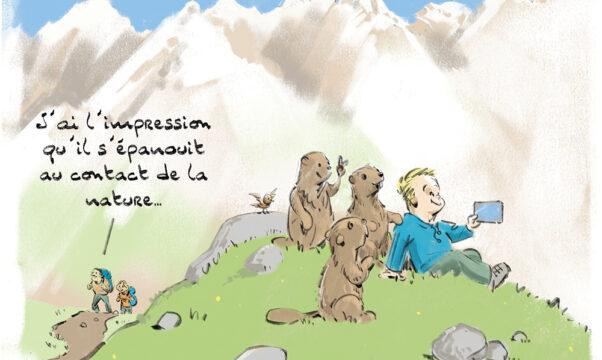 dessin de Luc Tesson